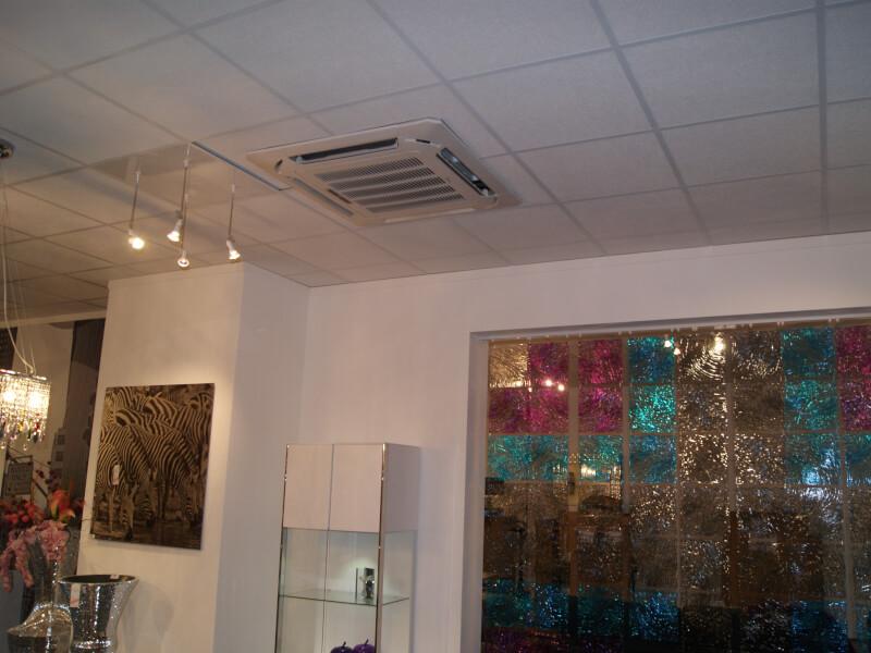 eurofroid climatisation - Climatisation d'un magasin de décoration XXL